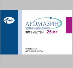 Aromasin compresse 25 mg