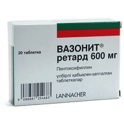 Vazonit compresse 600 mg